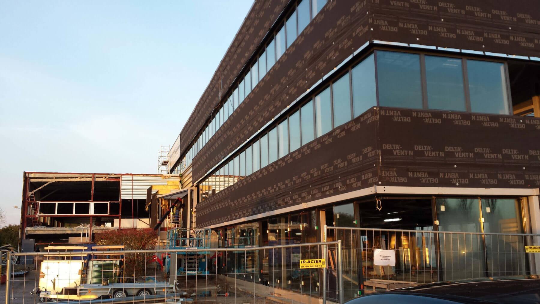 Immeuble de bureau heli union batiserf - Livraison macdonald paris ...