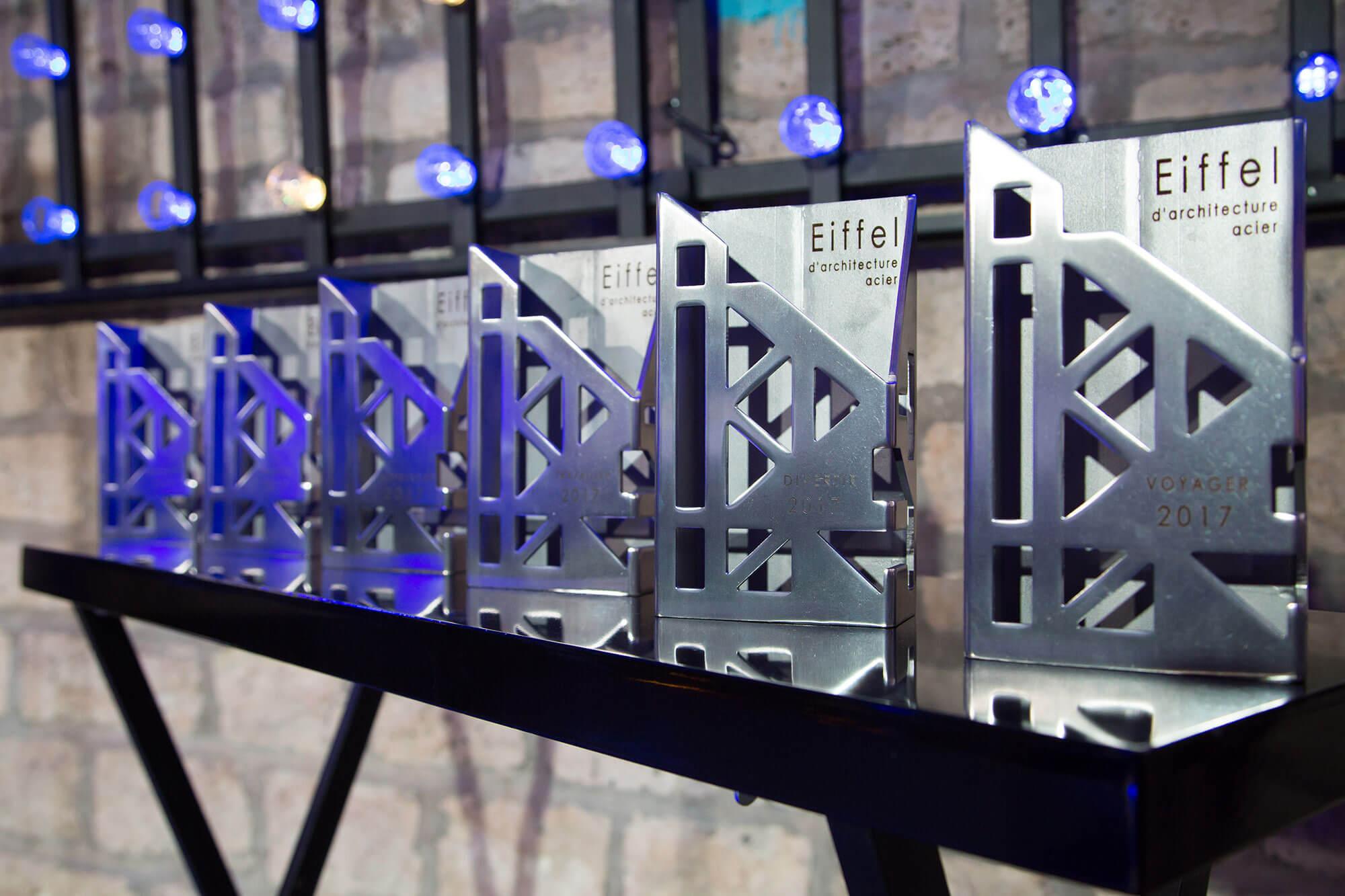 Trophées Eiffel d'architecture acier 2017