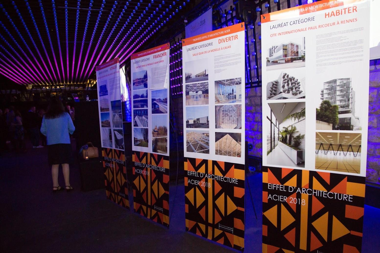 Trophées Eiffel d'architecture acier 2018